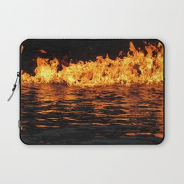Fire on Water Laptop Sleeve
