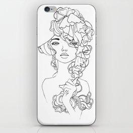 Girl#2 iPhone Skin