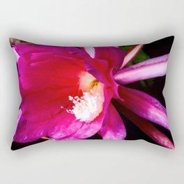 Pink cactus flower Rectangular Pillow