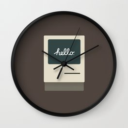 Apple 11 Wall Clock