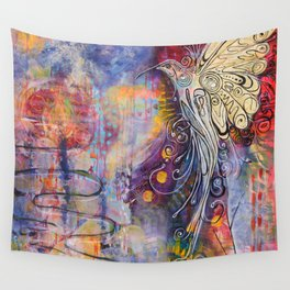Rising from the Ashes Wall Tapestry