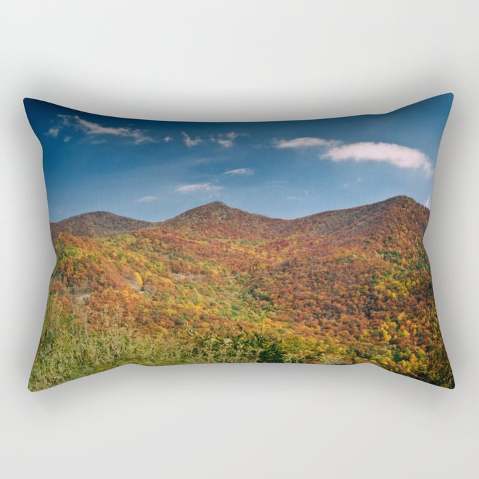 Autumn on the Mountains of the Parkway Rectangular Pillow