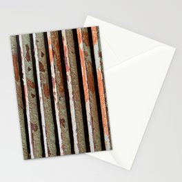 Rusty Radiator Bars Stationery Cards