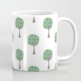 Tree Pattern Coffee Mug