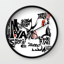 Farscape - Our heroes Wall Clock
