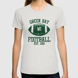Green Bay Football Fan Gift Present Idea T-shirt