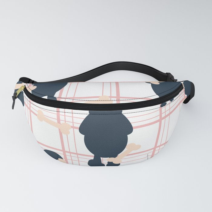 Cute Dog Lover Patterns Fanny Pack