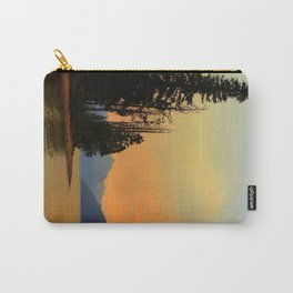Redfish Lake sunset Carry-All Pouch