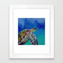 Honu 7 Framed Art Print