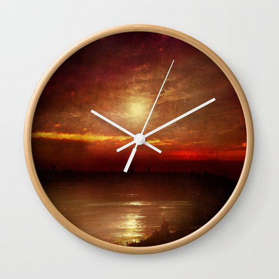 Music from the sun Wall Clock