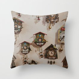 Cuckoo About You Throw Pillow
