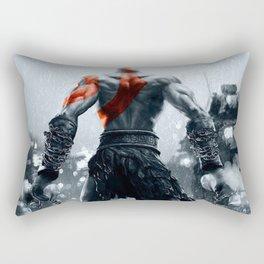 Kratos God Of War Rectangular Pillow