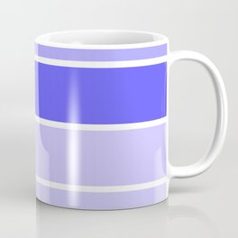 Periwinkle Lavender Stripes Coffee Mug