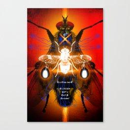 DAVID CRONENBERG SERIES :: THE FLY Canvas Print