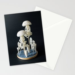 Paleozoic Sea Creature: jellyfish Stationery Cards