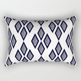 Black and white classic. Rectangular Pillow