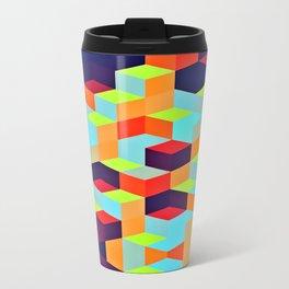 Grid Trip Travel Mug