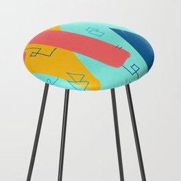 Big Wave Beachwear Supply Co Counter Stool