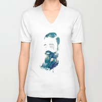 storm V-neck T-shirts featuring Storm by Seaside Spirit