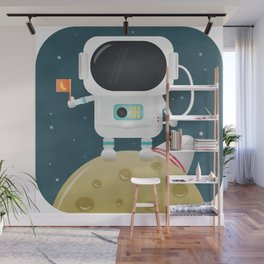 Astronaut kiddo Wall Mural