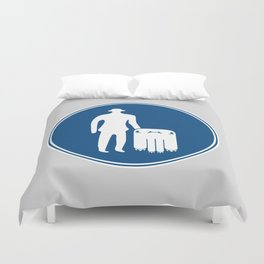Monsters Only Duvet Cover