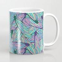 wings Mugs featuring Wings by AnaAna