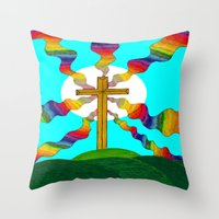 book cover Throw Pillows featuring Book cover by Carrollskitchen on youtube