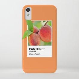PANTONE SERIES – PEACH iPhone Case