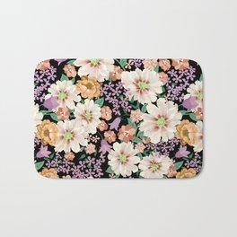 FLOWERS X Bath Mat