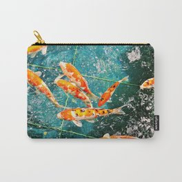 Japanese Koi Carry-All Pouch