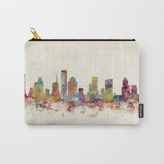 houston texas Carry-All Pouch