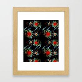 fractal pattern -1112172- Framed Art Print