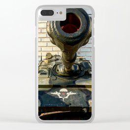 Airborne tank Clear iPhone Case