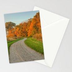 October Walk 2 Stationery Cards