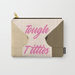 Tough Titties - Nipple Version Carry-All Pouch