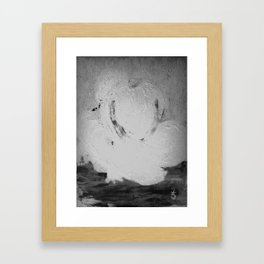 Abstract in Nature Shadows Framed Art Print