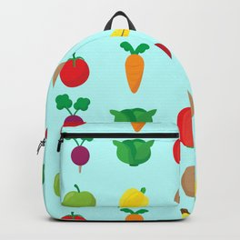 A Cute Concoction of Fruit and Vegetables. Vegan Heaven! Backpack