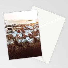 reine village at the lofoten Stationery Cards