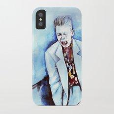 David Bowie as Agent Jeffries Slim Case iPhone X