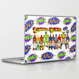 Superhero Butts Crack Smack Laptop & iPad Skin