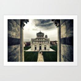Pisa Cathedral Art Print
