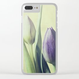 Tulips Clear iPhone Case