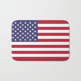 USA National Flag Authentic Scale G-spec 10:19 Bath Mat