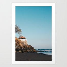 playa los mangos Art Print