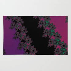 Fractal Layered Lace  Rug