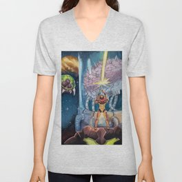 Super Metroid Fan Art Unisex V-Neck