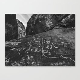 Valley of Fire, Nevada Canvas Print