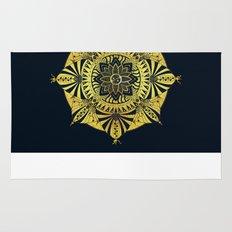 Golden Geometry Rug