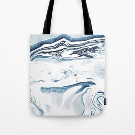 Marble fade Tote Bag
