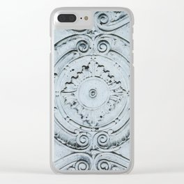 Vintage 3 Clear iPhone Case